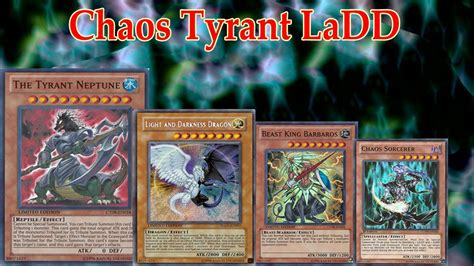 Yugioh Darkness Deck 2015 by Deck Chaos Tyrant Light And Darkness Ygopro