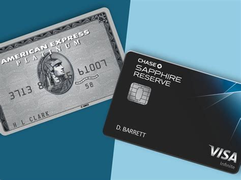 Amex Platinum And Chase Sapphire Reserve