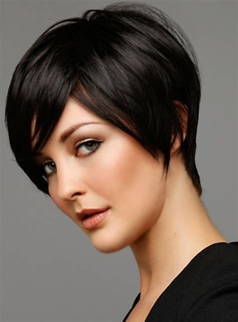 cute short hairstyles  bangs pretty designs