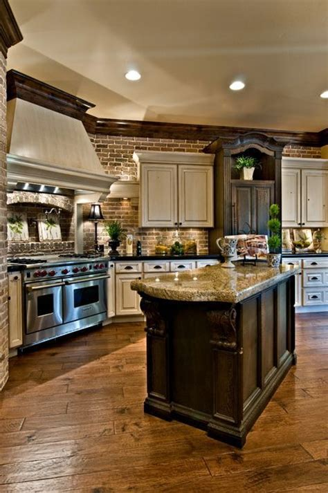20 beautiful brick and kitchen tile floor beautiful kitchen by k welch homes style