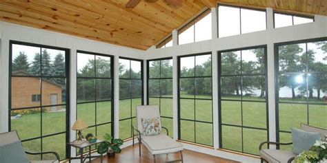Enclosed Porch Windows by Vinyl 4 Track Eze Windows To Enclose Your Screen