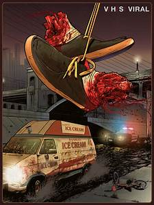 'V/H/S: Viral' Art Poster Delivers Some Ice Cream - Bloody ...