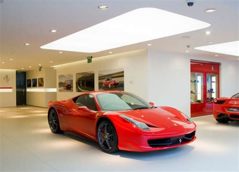 ferrari dealership charles hurst ltd unveils new ferrari showroom in belfast