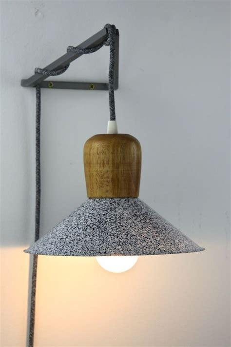 geometric wall lighting bracket hook frame pendant hanging