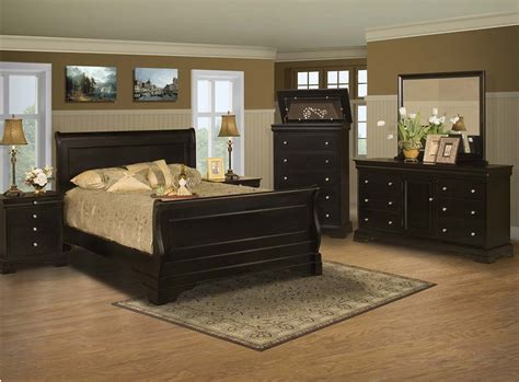 The Bedroom Store Sale by Bedroom Set Black Cherry Finish