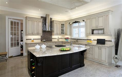 white kitchen with black island 52 kitchens with wood and black kitchen cabinets
