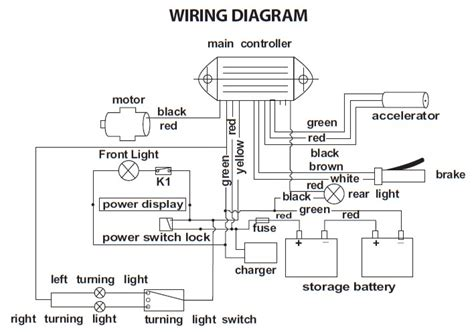wiring diagram  rascal  scooter auto electrical