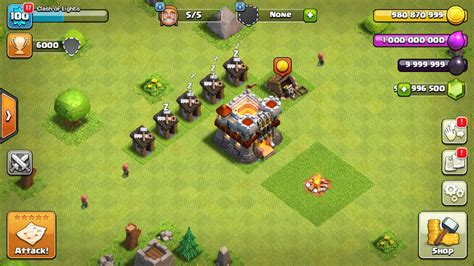 clash of clans server 2017 unlimited gold elixir gems more android mods