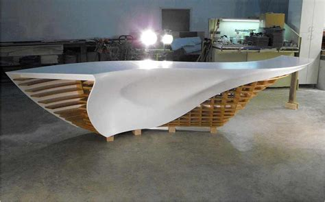 Corian Thermoforming Complex Thermoforming Reception Desk For Gensler Los