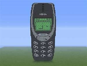 Nokia 3310 Minecraft Map