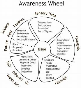 Awareness Wheel - Momentum Counselling Services