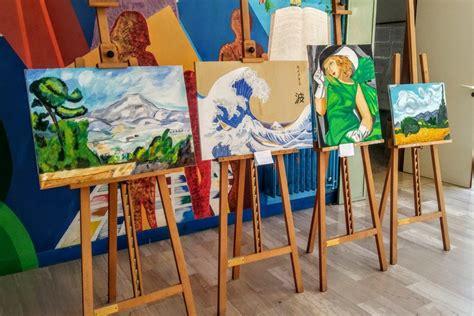 scuola baldacchini barletta barletta arte e in mostra con gli studenti della