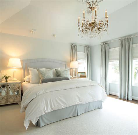 cusion bed blue bedskirt traditional bedroom goforth design