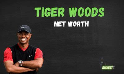 Tiger Woods Net Worth【Total Income & Revenue】