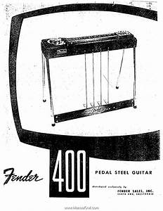 Fender Fender 400 Pedal Steel Guitar