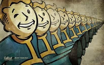 Fallout Wallpapers Vegas Vault Boy Pip Pc