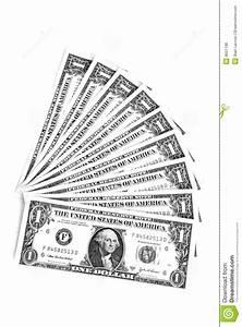 Money Bills Clipart Black And White - ClipartXtras