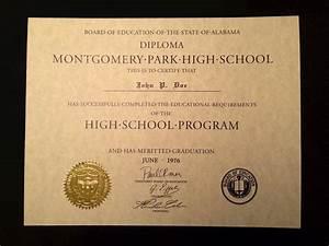 free fake high school diploma templates - free fake high school diploma templates image collections