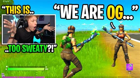 I Played Fortnite At 434am And Met The Sweatiest Renegade