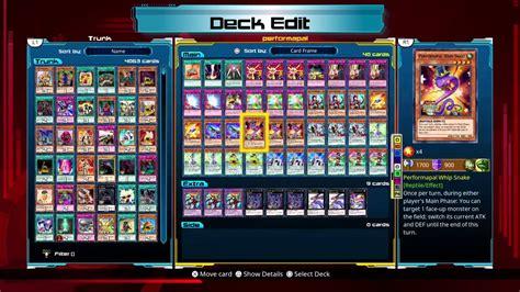 duelist legacy deck yu oh gi performapal