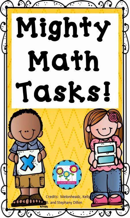 Mighty Math Tasks!  Corkboard Connections  School Stuff  Pinterest  Math, Kindergarten Math