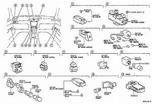 1999 Toyota Camry Shift Interlock Solenoid  Solenoid  Key Inter Lock - 8543233020