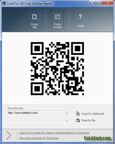 CodeTwo Desktop QR Code Reader : Decode QR Codes in Windows