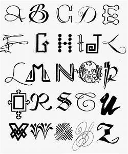 Cool Ways To Write Letters Of The Alphabet - Home Design