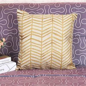 wholesale selling gold yellow linen furnishing cushion With cheap yellow decorative pillows