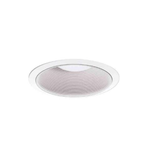 halo 6 in white recessed lighting coilex baffle and trim