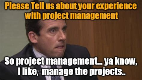 Project Manager Meme - friday funny tell us about project management humor pinterest project management friday