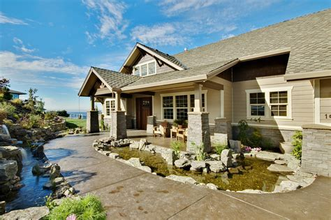 Craftsman House Plans   Pacifica 30 683   Associated Designs