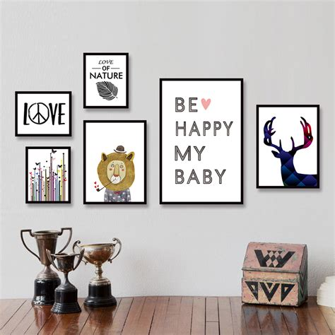 poster chambre aliexpress com buy modern minimalist nordic black white