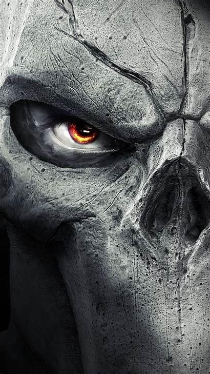 Skull Evil Awesome Skulls Wallpapers Galaxy Samsung