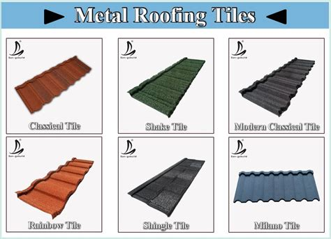coated heat resistant metal roofing tile sheets