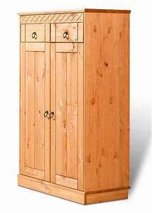 Schrank Für Einbaubackofen : ideal f r den garderobenbereich der schrank indra gelaugt ge lt mit 2 t ren ~ Markanthonyermac.com Haus und Dekorationen
