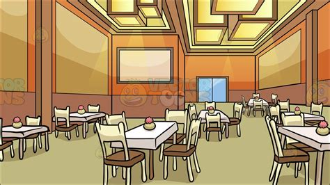Dining Room Clipart Images by A Restaurant Dining Room Background Clipart By