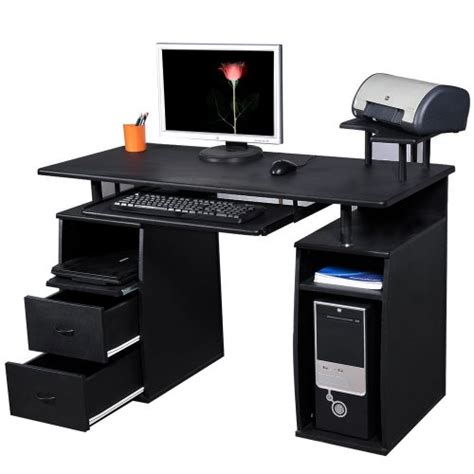 btm pc table computer desk  drawers  home office