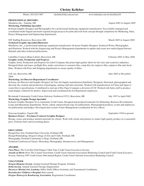 Design Specialist Resume by Design Specialist Resume