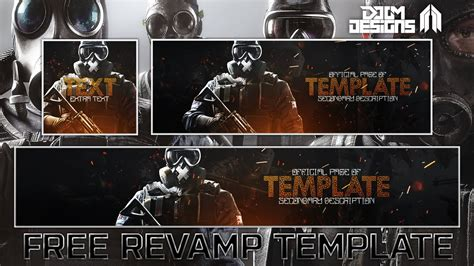 siege social look free gfx rainbow six siege social media rev template