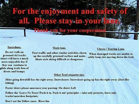 Park County Nordic Ski Association (PCNSA) Trail Map