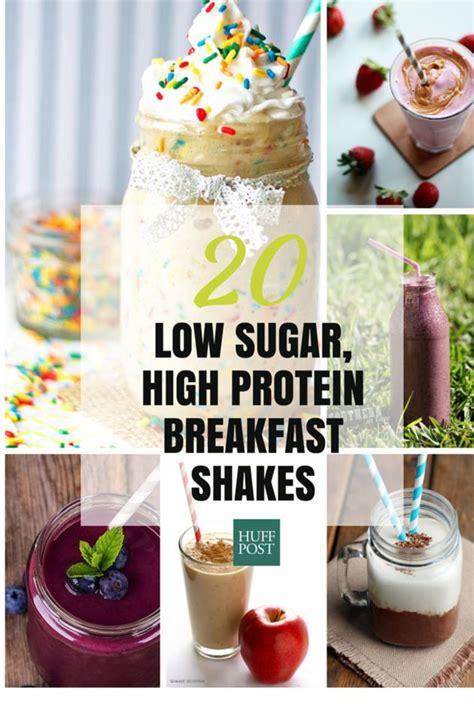 sugar protein shake recipes  fuel  mornings