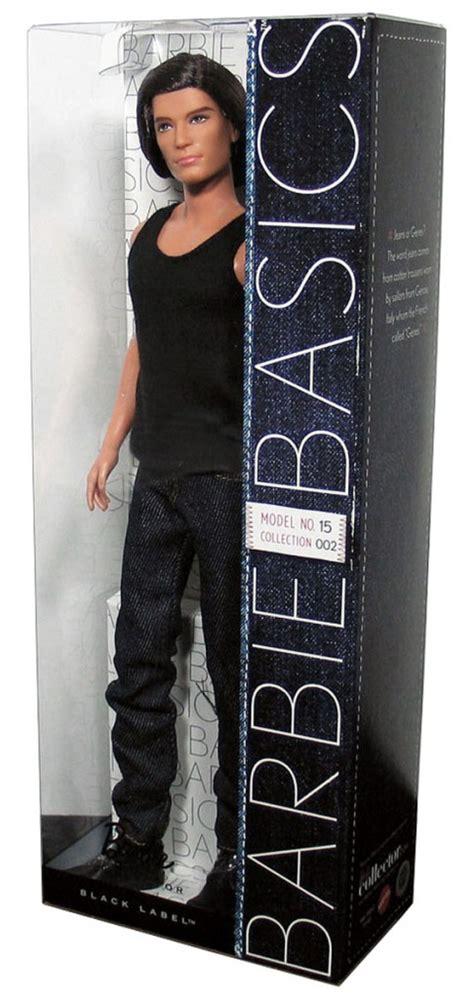 barbie basics ken doll muse model