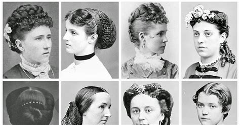 Mid/late Victorian Hairstyles (1860's