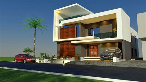 3d Front Elevation.com House-home-contemporary-modern