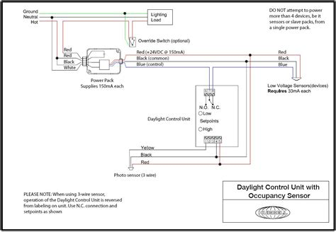 Daylight Zone Wiring Circuit Diagram