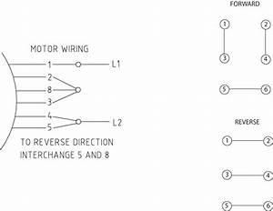 115 Volt Motor Reversing Switch Wiring Diagram