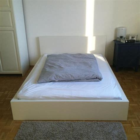 Ikea Möbel Betten by Ikea Malm Bett Und Matratze Hamarvik In M 252 Nchen Ikea