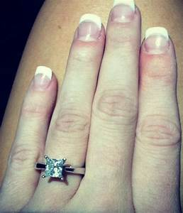 Show me PICTURES PLEASE of your 1ct diamond solitaire on a ...