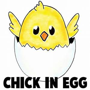 Easter Chick Drawing | www.pixshark.com - Images Galleries ...